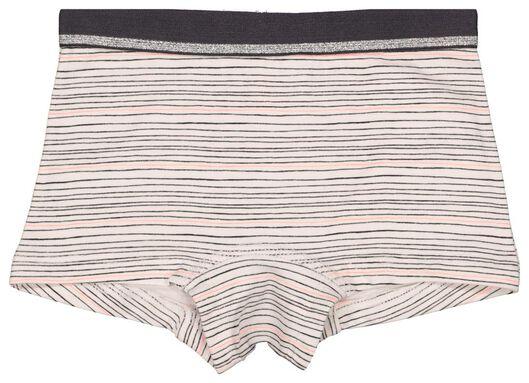 3-pak kinderboxers roze 86/92 - 19330530 - HEMA
