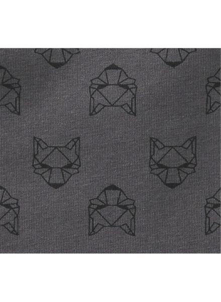 2-pak kinderhemden grijsmelange grijsmelange - 1000009671 - HEMA