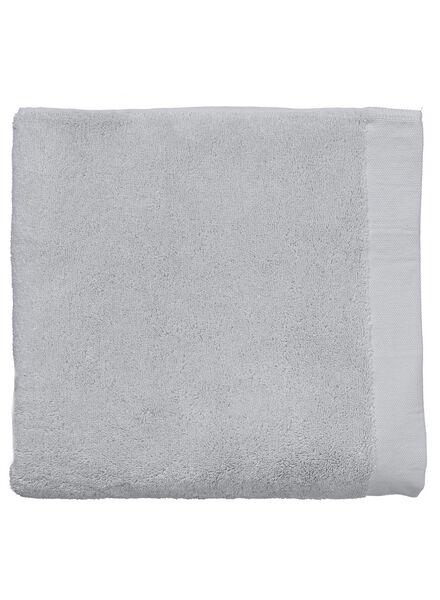 handdoek - 70 x 140 - hotel extra zacht - lichtgrijs - 5217028 - HEMA