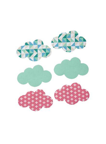 strijkapplicatie wolk - 1490211 - HEMA