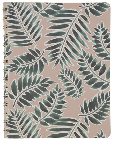Notitieboek spiraal 20x16 gelinieerd/blanco/ruit - in Kantoorspullen
