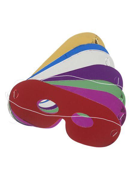 8-pak uitdeelmaskers - 14200046 - HEMA