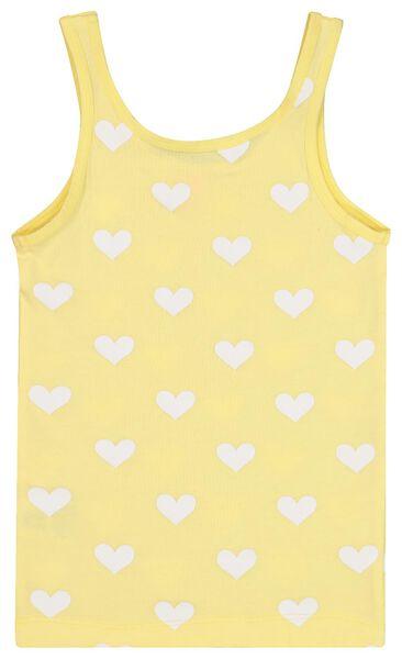 2-pak kinderhemden geel 86/92 - 19390330 - HEMA