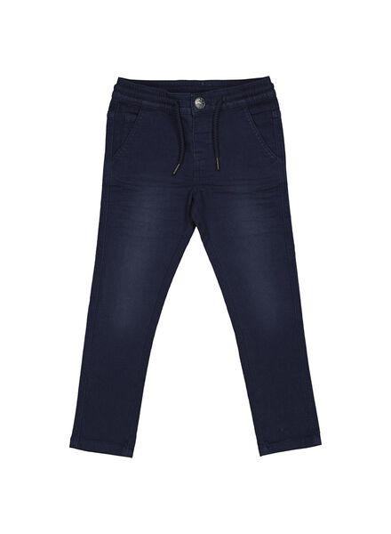 kinderbroek donkerblauw donkerblauw - 1000013790 - HEMA