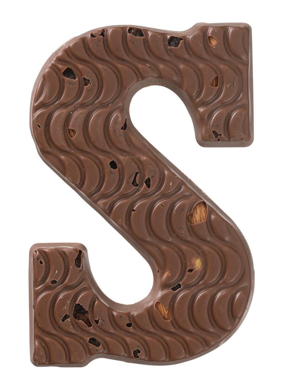HEMA Chocolade Letter S Rozijn/amandel/hazelnoot