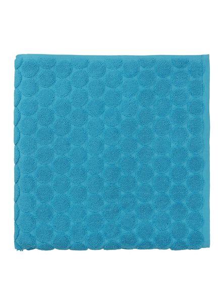 handdoek - 70 x 140 cm - zware kwaliteit - aqua gestipt - 5240177 - HEMA