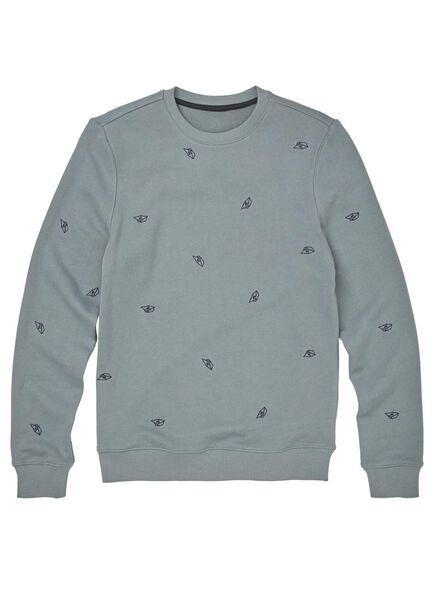 herensweater zeegroen zeegroen - 1000009879 - HEMA