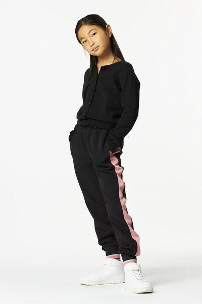 kinderbroek zwart zwart - 1000024977 - HEMA