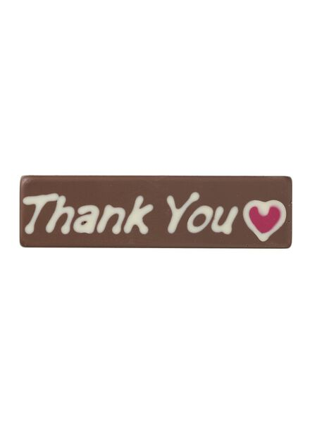 chocoladereep thank you - 10370024 - HEMA