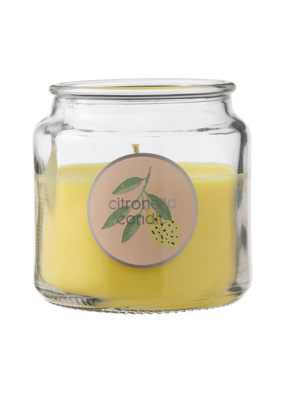 HEMA Kaarsvaas Citronella (geel)