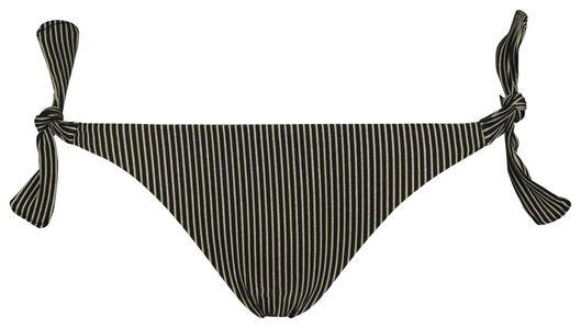 dames bikinislip zwart zwart - 1000017901 - HEMA
