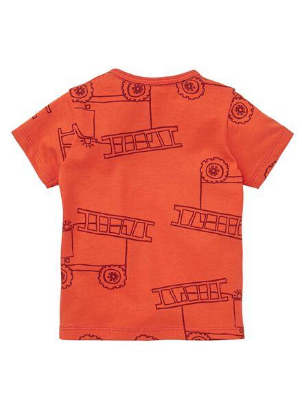 baby t-shirt rood rood - 1000012979 - HEMA