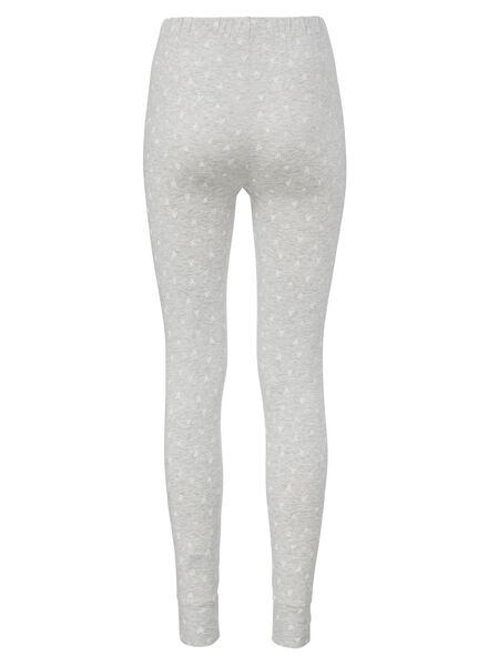 dames pyjama broek grijsmelange grijsmelange - 1000002878 - HEMA