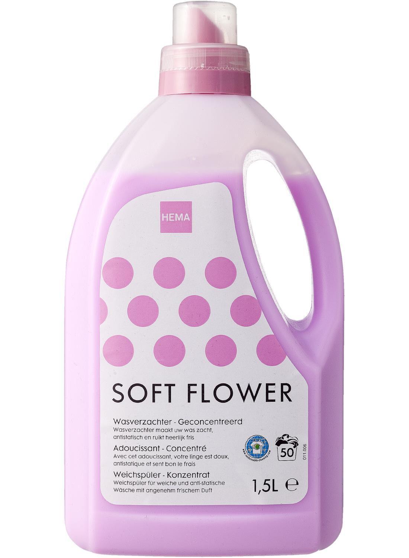 HEMA Wasverzachter 1,5 Liter (rose)