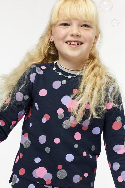 kindersweater donkerblauw donkerblauw - 1000024923 - HEMA