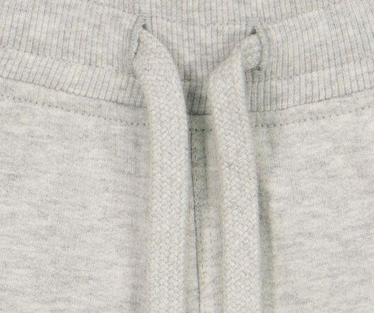 baby sweatshort grijsmelange 86 - 33125906 - HEMA