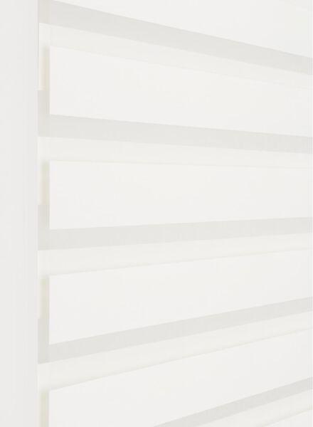 duo rolgordijn uni glanzend wit - 1000016415 - HEMA