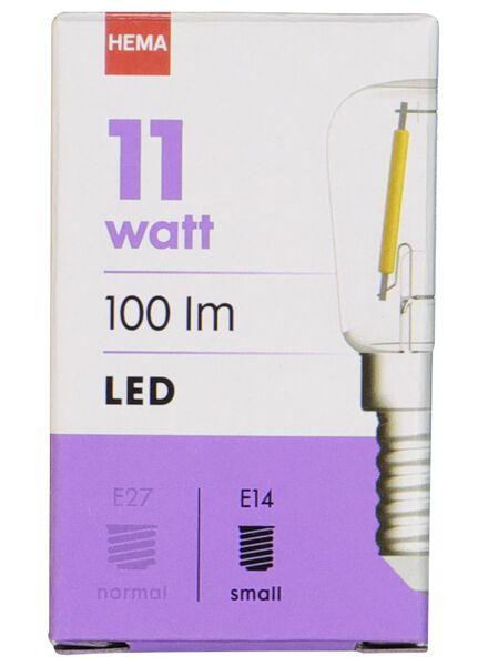 LED lamp 11W - 100 lm - koelkast - helder - 20020040 - HEMA