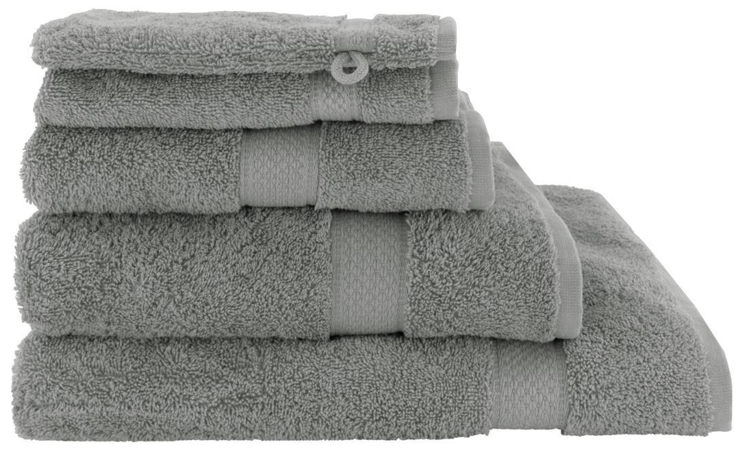 HEMA Handdoeken - Zware Kwaliteit Middengrijs (middengrijs)