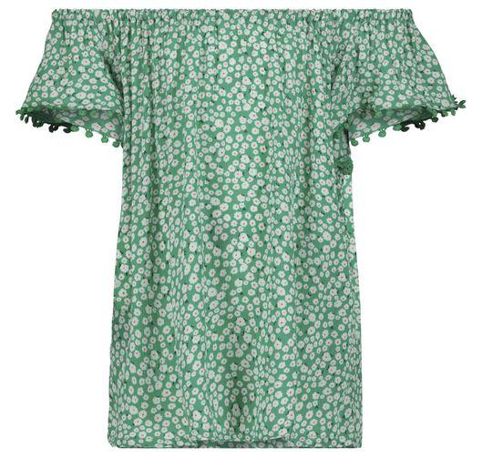 kinder top groen groen - 1000018387 - HEMA