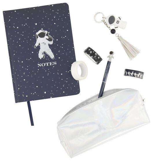 cadeauset schijfwaren 5-delig astronaut - 14802915 - HEMA