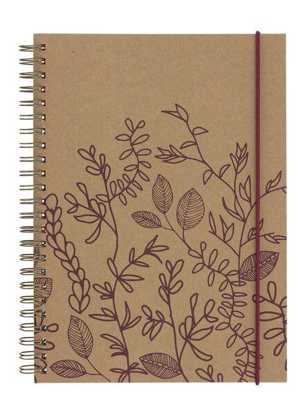 notitieboek A5 gelinieerd - 14101297 - HEMA