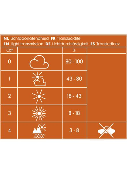 kinderzonnebril - 40618006 - HEMA