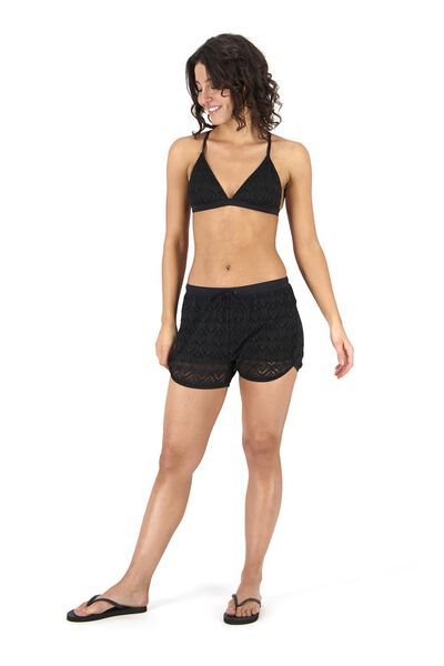 dames zwemshort zwart zwart - 1000017957 - HEMA