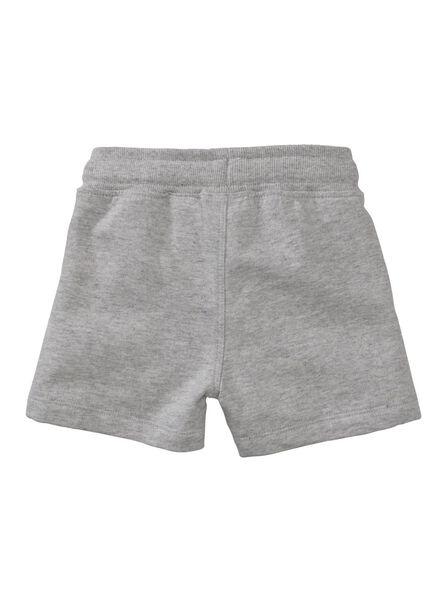 baby korte broek grijsmelange grijsmelange - 1000007996 - HEMA