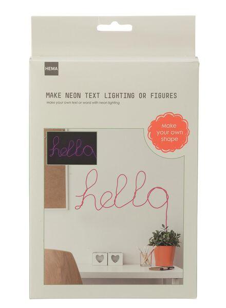 neon tekst verlichting - 15921038 - HEMA