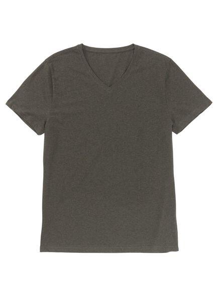 heren t-shirt groen groen - 1000009017 - HEMA