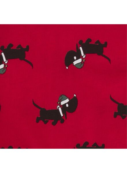 kinderpyjama rood rood - 1000010647 - HEMA