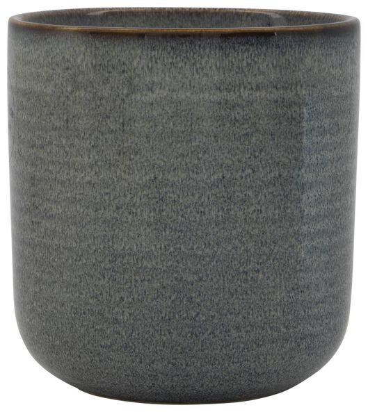 bloempot aardewerk reactief glazuur 11.5 x 11 11.5 x 11 - 1000024147 - HEMA