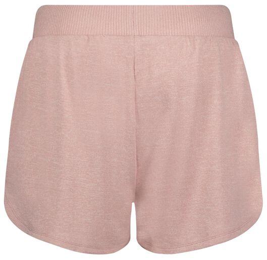 dames slaapshort roze M - 23400832 - HEMA