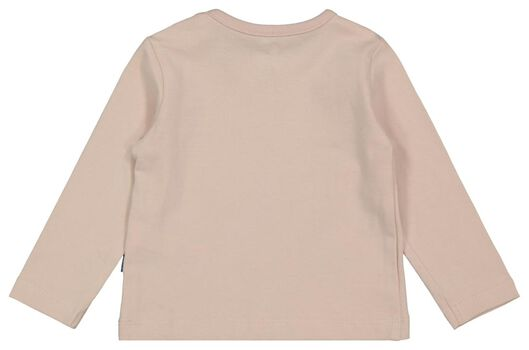newborn t-shirt zon roze roze - 1000022079 - HEMA
