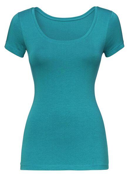 dames t-shirt groen groen - 1000005148 - HEMA