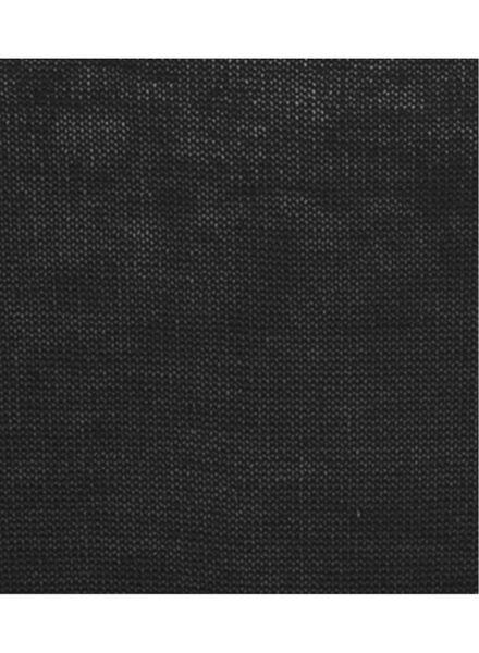 damestrui zwart zwart - 1000005105 - HEMA
