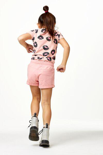 kinder t-shirt animal roze roze - 1000022935 - HEMA