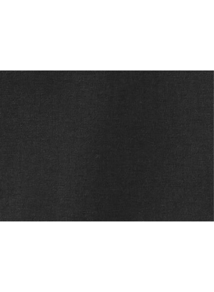 jongens t-shirt - biologisch katoen zwart zwart - 1000003399 - HEMA