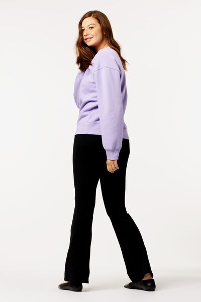 dames sweater paars M - 36214177 - HEMA