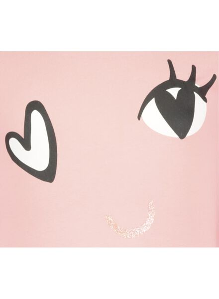 kinderpyjama roze roze - 1000014959 - HEMA