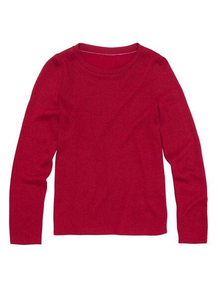 kindertrui rood rood - 1000010648 - HEMA