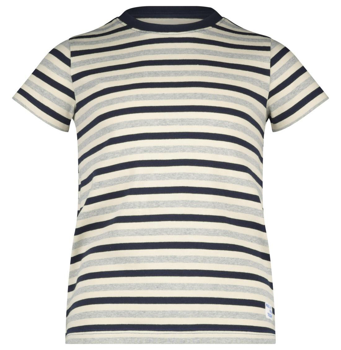 HEMA Kinder T-shirt Donkerblauw (donkerblauw)