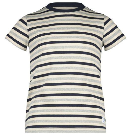 kinder t-shirt donkerblauw donkerblauw - 1000020357 - HEMA
