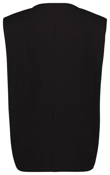 dames t-shirt zwart zwart - 1000024819 - HEMA