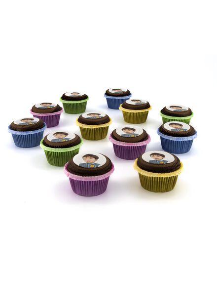fotocupcake chocolade 12 stuks - 6330030 - HEMA
