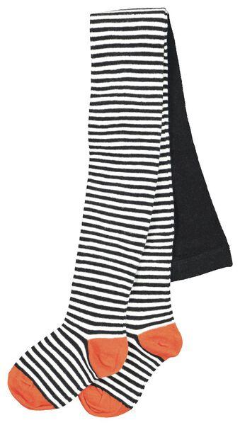 kindermaillot streep zwart/wit zwart/wit - 1000020493 - HEMA