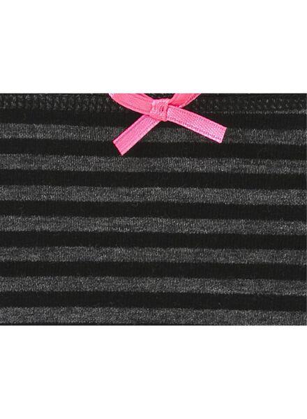 3-pak damesslips zwart zwart - 1000008982 - HEMA