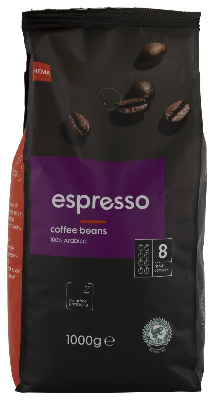 koffiebonen espresso 1000 gram