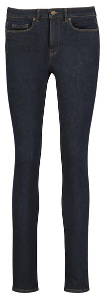dames jeans - shaping skinny fit donkerblauw 44 - 36331175 - HEMA